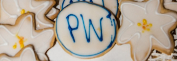 cookies iced for PW, South LA