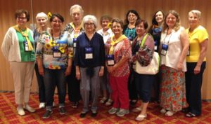 picture of Grace Presbytery members who attended 2018 PW Churchwide Gathering Synod of the Sun luncheon
